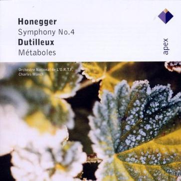 Honegger: Symphony No. 4; Dutilleux: Métaboles