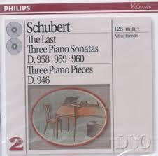 进口CD:舒伯特:最后三首钢琴奏鸣曲(布伦德尔演(438 703-2)