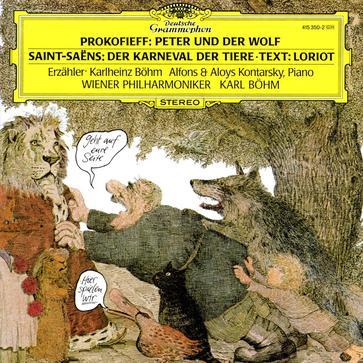 进口:普罗科菲耶夫:彼得和狼;圣桑:动物狂欢(415 350-2)