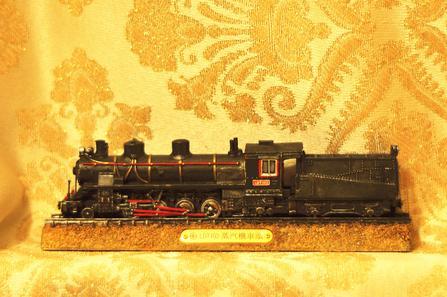 台铁LDT103蒸汽机车头