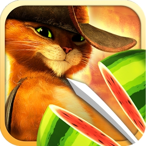 Fruit Ninja: Puss in Boots (Android)