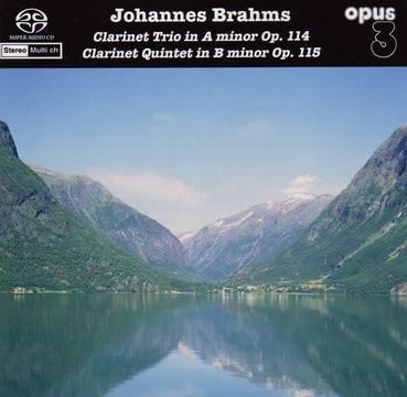 Johannes Brahms:Clarinet Trio in A minor Op.114, Clarinet Quintet in B minor Op.115