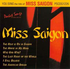 You Sing The Hits Of Miss Saigon (Karaoke)