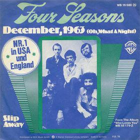Frankie Valli & the Four Seasons - December 1963 Oh What a Night