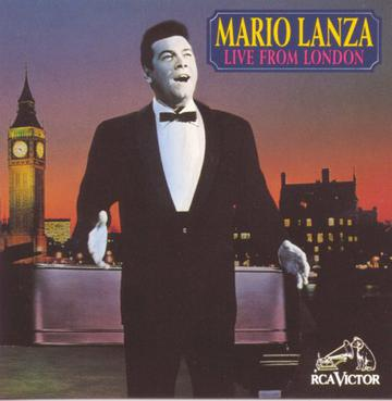 Mario Lanza - Live from London