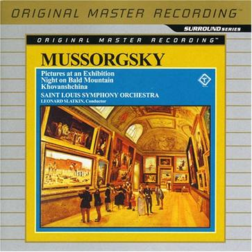 Mussorgsky: Pictures at an Exhibition; Night on Bald Mountain; Khovanshchina [Hybrid SACD]