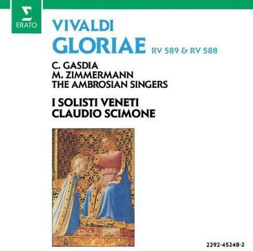 Vivaldi: Gloriae RV 588 & RV 589 / Scimone, I Solisti Veneti