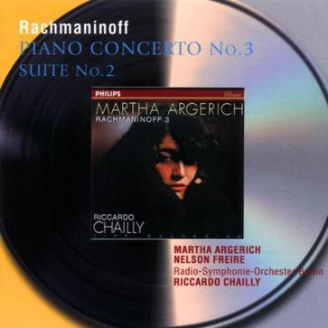 Rachmaninoff: Piano Concerto No. 3,Op. 30 / Suite No. 2 for two pianos ~ Argerich