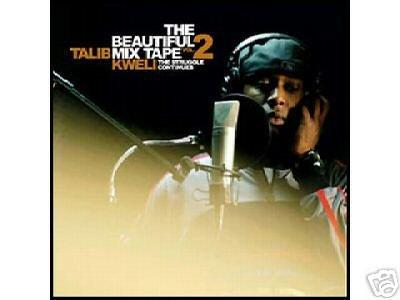 Talib Kweli The Beautiful Mix Tape Vol. 2 The Struggle Continues Mixtape CD