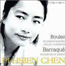 Pierre Boulez: Troisième sonate; Douze notations; Jean Barraqué: Sonate pour piano