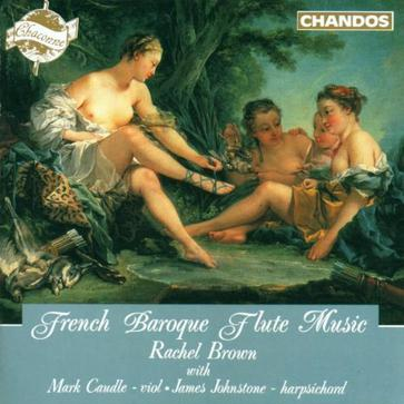 Baroque French Flute Music / Brown