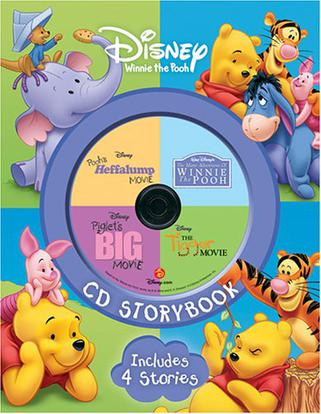 DISNEY CD STORYBOOK Includes 4 Stories