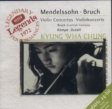 门德尔松、布鲁赫小提琴协奏曲(HD)