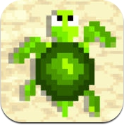 Turtle Crawl - Flappy Flipper Adventure, Clash with Crabs on the Sunny Beach (iPhone / iPad)