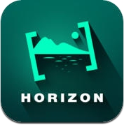 Horizon - Horizontal Full Hd, HD Video Recorder with Real Time Filters, Sharing, Tilt to Zoom (iPhone / iPad)