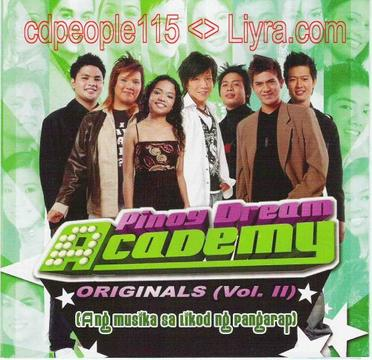 Pinoy Dream Academy Volume 2 - Philippine Music CD