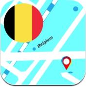 比利时离线地图 (iPhone / iPad)
