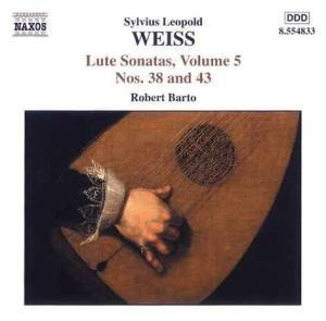 Weiss: Sonatas for Lute, Volume 5