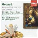 Gounod: Messe Solennelle de Sainte Cécile; Petite Symphonie for wind instruments