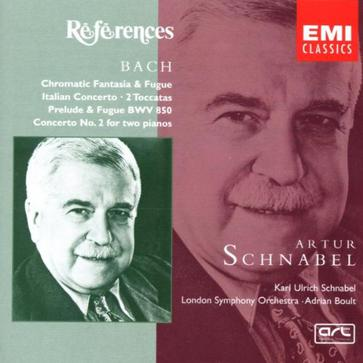 Bach: Chromatic Fantasy & Fugue, etc / Schnabel, Boult, et al