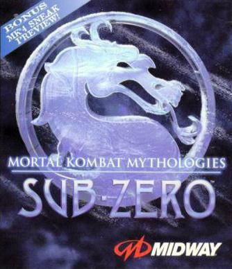真人快打 神话 绝对零度 Mortal Kombat Mythologies: Sub-Zero