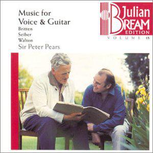 Music For Voice & Guitar (Juilian Bream Edition, Volume 18)