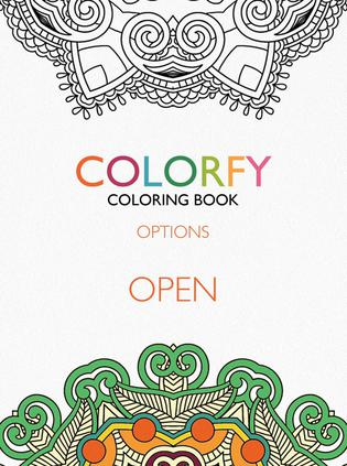 成人涂色本 Colorfy:Coloring Book For Adults
