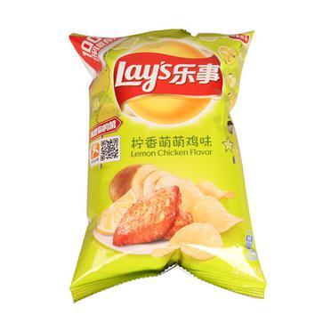 乐事薯片柠香萌萌鸡味