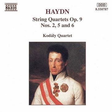 Haydn: String Quartets, Op. 9, nos. 2, 5 & 6