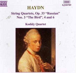 """Haydn: String Quartets, Op. 33 """"Russian"""", No. 3 """"The Bird"""", 4 and 6"""