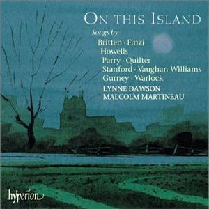 On This Island - Songs of English Composers - Lynne Dawson (soprano)