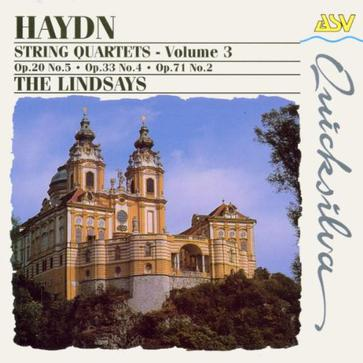 Haydn: 3 String Quartets