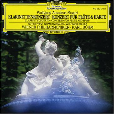 Alfred Prinz... - Mozart:Concerto for Clarinet and Orchestra;Concerto for Flute,Harp and Orchestra