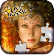 Live Jigsaws - Dreaming with Fairies (iPhone / iPad)