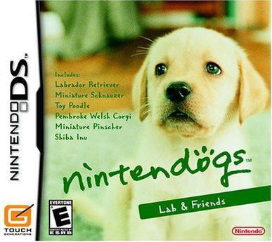 任天狗:拉布拉多犬与它的朋友 nintendogs: Lab & Friends