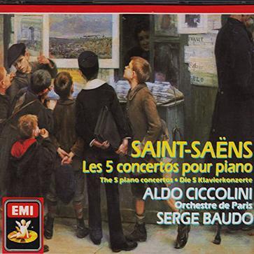 Saint-Saens: Les 5 concertos pour piano