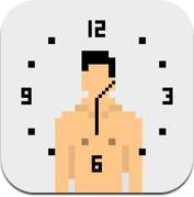 Numen Clock 裸男时钟 (iPhone / iPad)