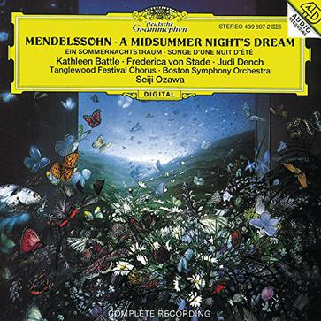 Mendelssohn: A Midsummer Night's Dream (complete) / Ozawa, Boston Symphony Orchestra