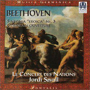 """Beethoven: Sinfonia (Symphony) No.3 """"Eroica"""", Op.55 / Coriolan Overture Op.62"""
