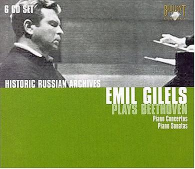 Emil Gilels Plays Beethoven (Box Set)