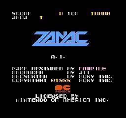 银河号 ZANAC