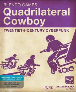 黑客特工 Quadrilateral Cowboy