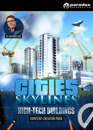 都市:天际线 - 智能大厦 Cities: Skylines - High-Tech Buildings