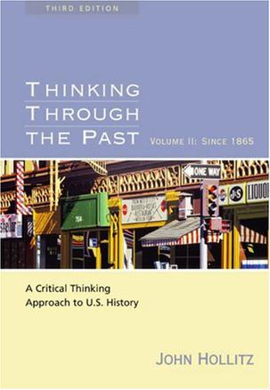 thinking through the past the puritan 9780495799917 our cheapest price for thinking through the past, volume i is $001 free shipping on all orders over $3500.