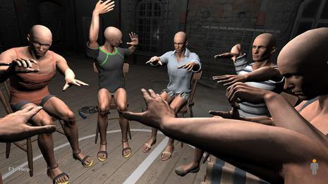手掌模拟器 Hand Simulator