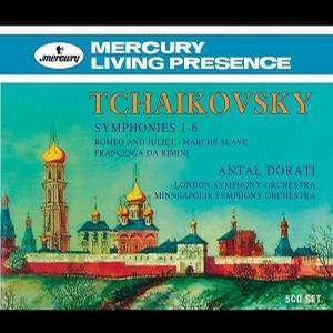 Tchaikovsky: Symphonies 1-6; Dorati / LSO