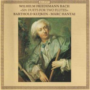 Wilhelm Friedemann Bach Six Duets For Two Flutes