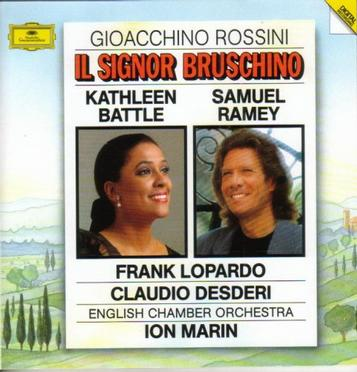 Rossini: Il Signor Bruschino / Ramey, Battle, Lopardo, Desderi; Ion Marin