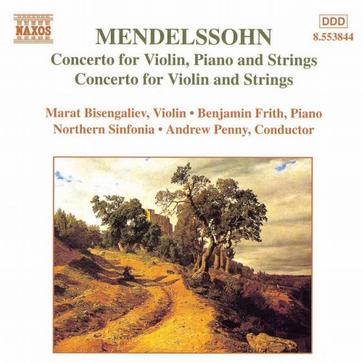 Mendelssohn: Concerto for piano & violin in Dm; Concerto for violin in Dm