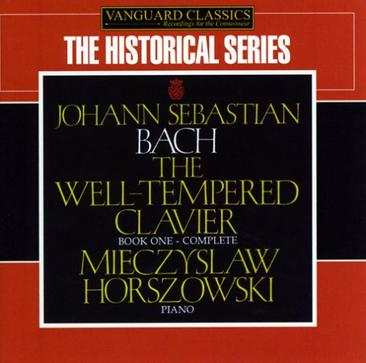 Mieczyslaw Horszowski - J.S. Bach: The Well-Tempered Clavier, Book 1 Complete
